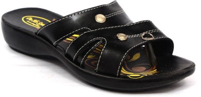 Hispeed Women Black Wedges