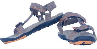 Iwana By Goldstar Men Orange, Brown Sandals