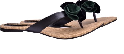 Fentacia Women Black Flats