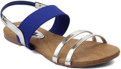 Infiniti Women Blue Flats