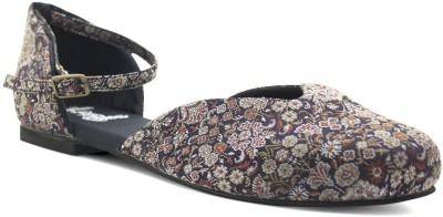 Rhythm & Shoes Women Navy, Multicolor Flats