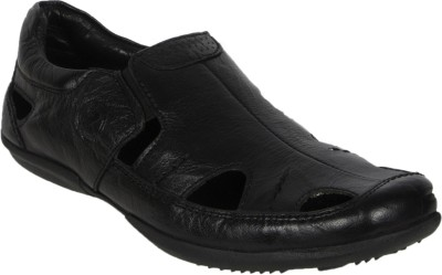 ROSA ROSSI Boys Black Sandals