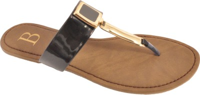 Bshoes Women Black Flats