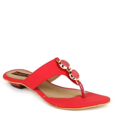 Hansx Women Red Flats