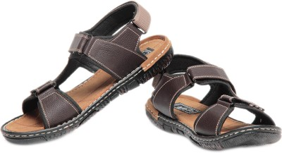 Pede Milan Volo 2401-Brown Men Brown Sandals