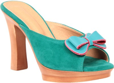 Fiorella Women Blue Heels