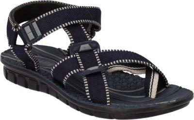 Pu Lite Men Blue, Grey Sandals