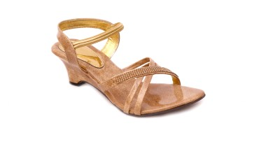 Unmatched Identity Women Tan Heels