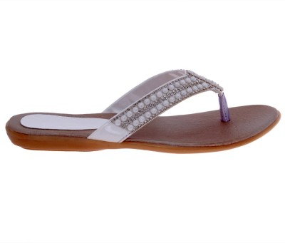 Dutch Benson Women White Sandals
