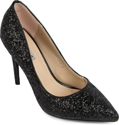 FOOTASH Women Black Heels
