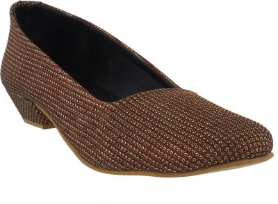 Strano Women Brown Heels