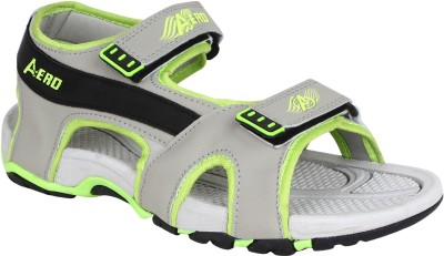 Aero Men Black, Green, Grey Sandals