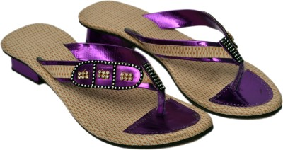 Aadolf Women Purple Flats