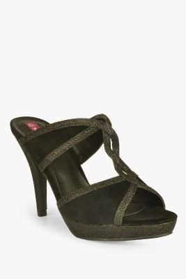SOLE TO SOUL Women Black Heels
