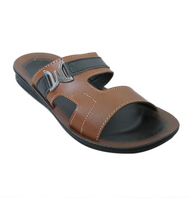 Walkaroo Men Brown Sandals