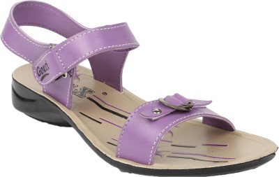 Gouri Women Beige, Purple Flats