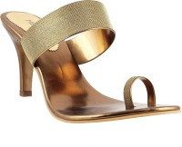 Metro Women 28,ANTIQ-GOLD Heels