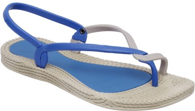 Fab Fashion Women Blue Flats