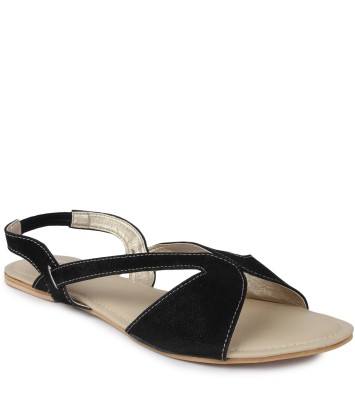 Kajjalli Women Black Flats