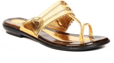 eAdams Women Gold Flats