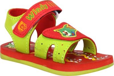WINDY Boys, Girls Red Sandals