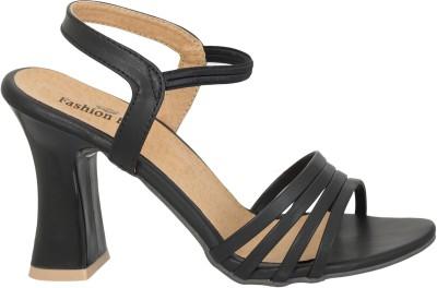 Fashion Feet Women Black Heels