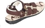 Train Men Brown Sandals