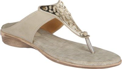Niremo Cream Durable Synthetic Leather Women White Flats