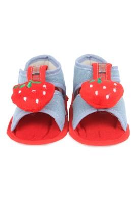 Instabuyz Baby Girls, Baby Boys Blue Sandals