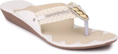 Koyka Women White Flats