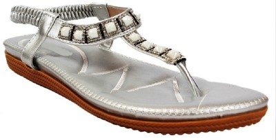 AALISHAN Women Silver Flats
