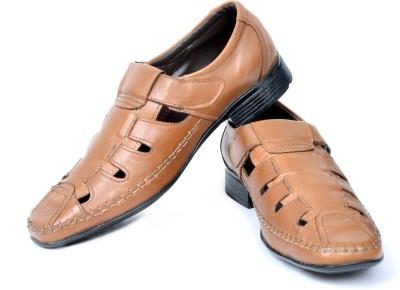EL Paso Men Tan Sandals