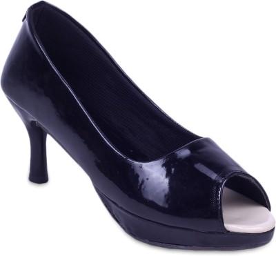 Fabme Women Black Heels