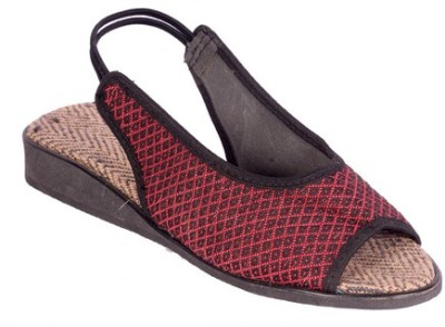 lipax Girls Maroon Sandals