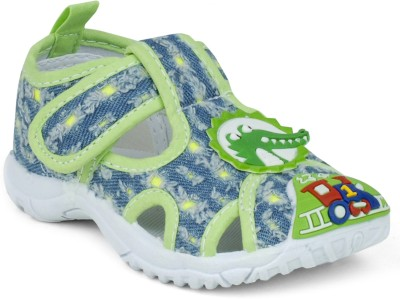 Action B0751-062 Baby Girls, Baby Boys Green Sandals