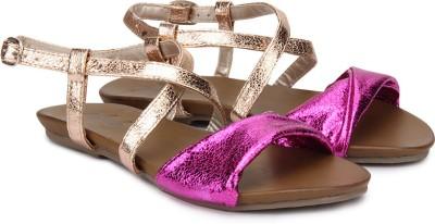 Plosh Women Pink Flats