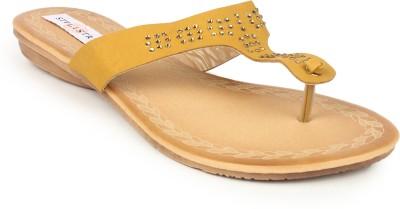 Stylistry Women Yellow Flats