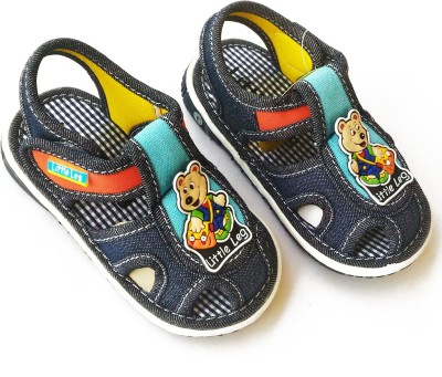 Stuff Jam Baby Boys Navy Sandals