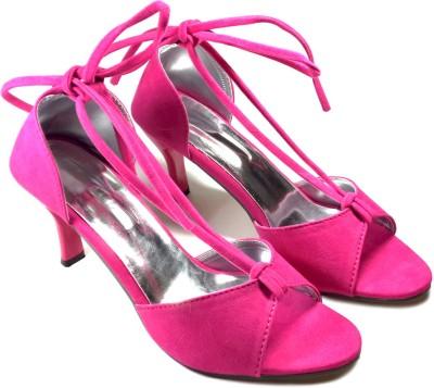 Plutos Women Pink Heels