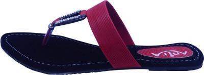 Anira Fashion Women Red Flats