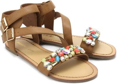 Madden Girl Kandis Women Brown Flats