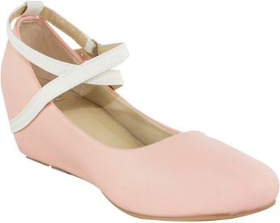 Heels & Handles Women Pink Wedges