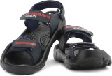 Globalite Men Navy Red Sandals