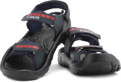 Globalite Zebra Men Navy Sandals