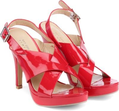 MFT Couture Women Red Heels at flipkart