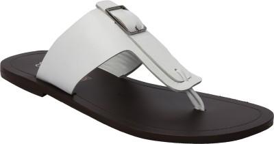 Shoe Bazar Men White Sandals