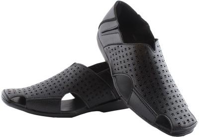 REDFOOT Men Black Sandals