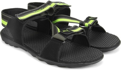 5d84dac409b8 Puma Men black dark shadow lime punch Sports Sandals available at Flipkart  for Rs.892