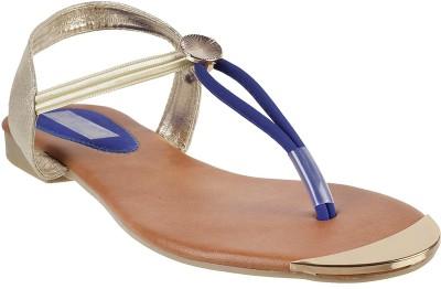 Touch Walk Women Blue Flats