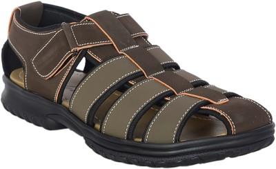 VOLO Men Green, Brown Sandals